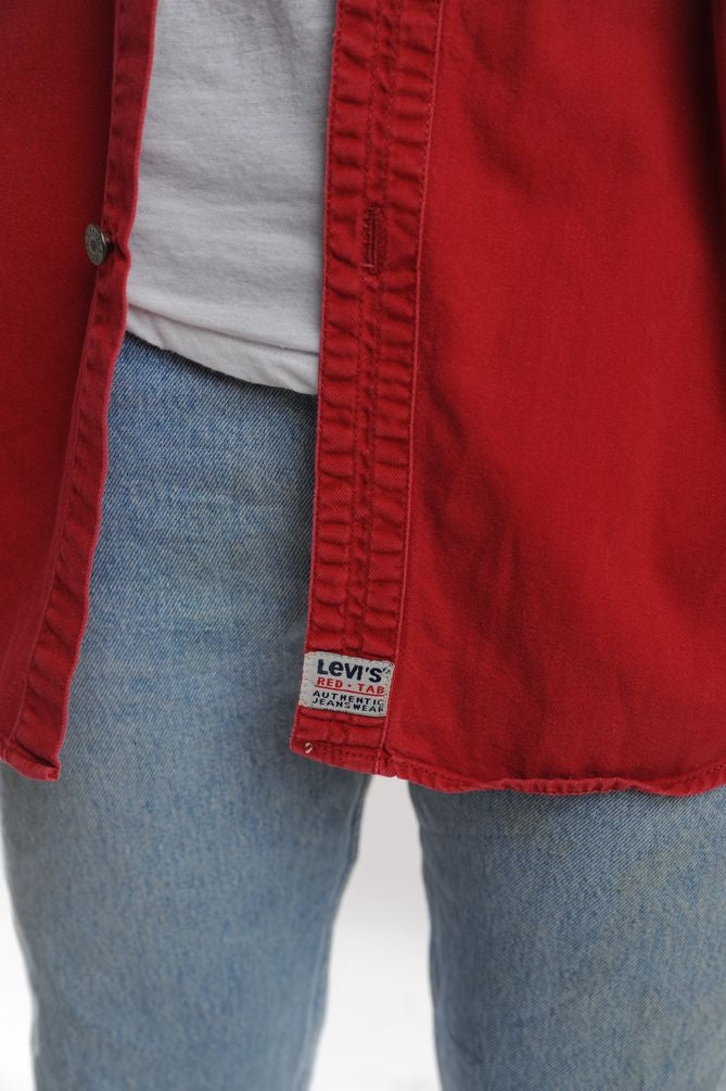 Levi's Red Button Down