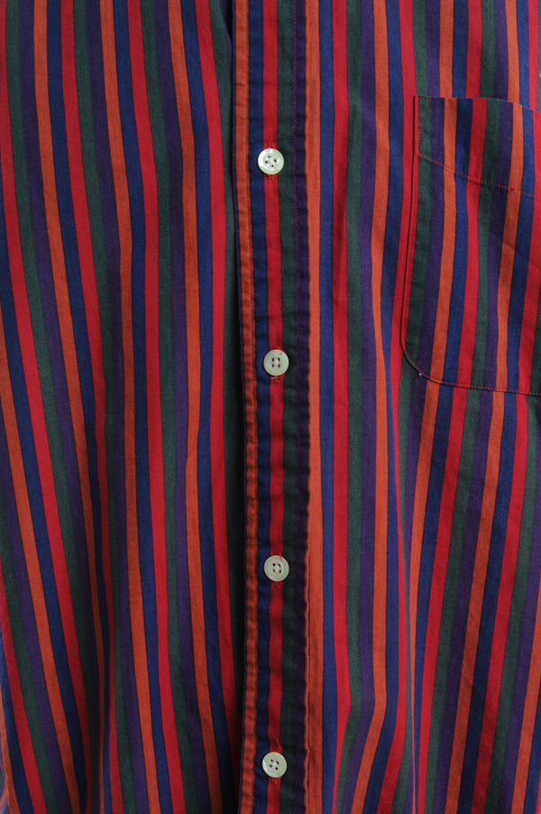 Red Striped Button Down