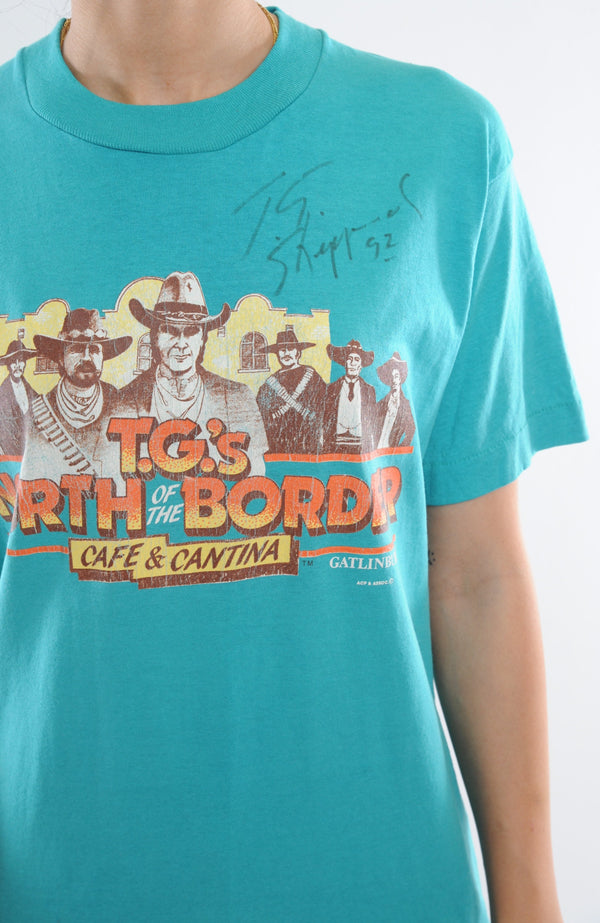 Signed T.G.'s Diner Tee