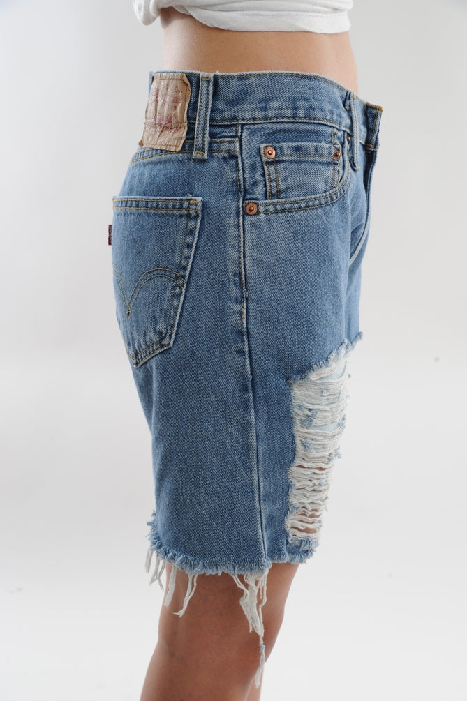 Levi's Distressed Denim Board Shorts