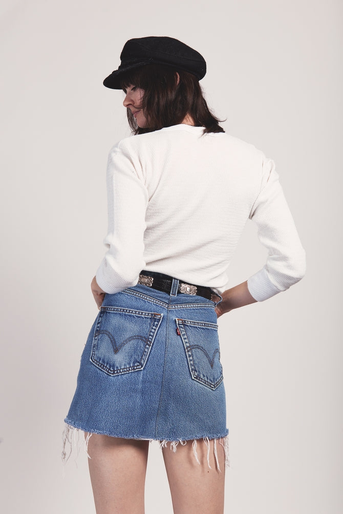 Levi's Remade Denim Skirt