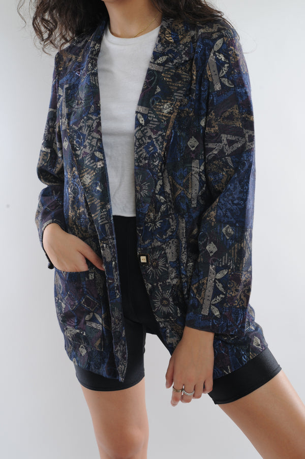 Multi Abstract Blazer