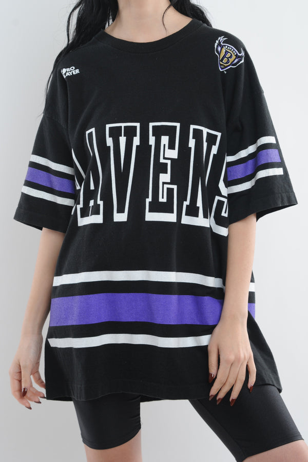 Baltimore Ravens Striped Tee