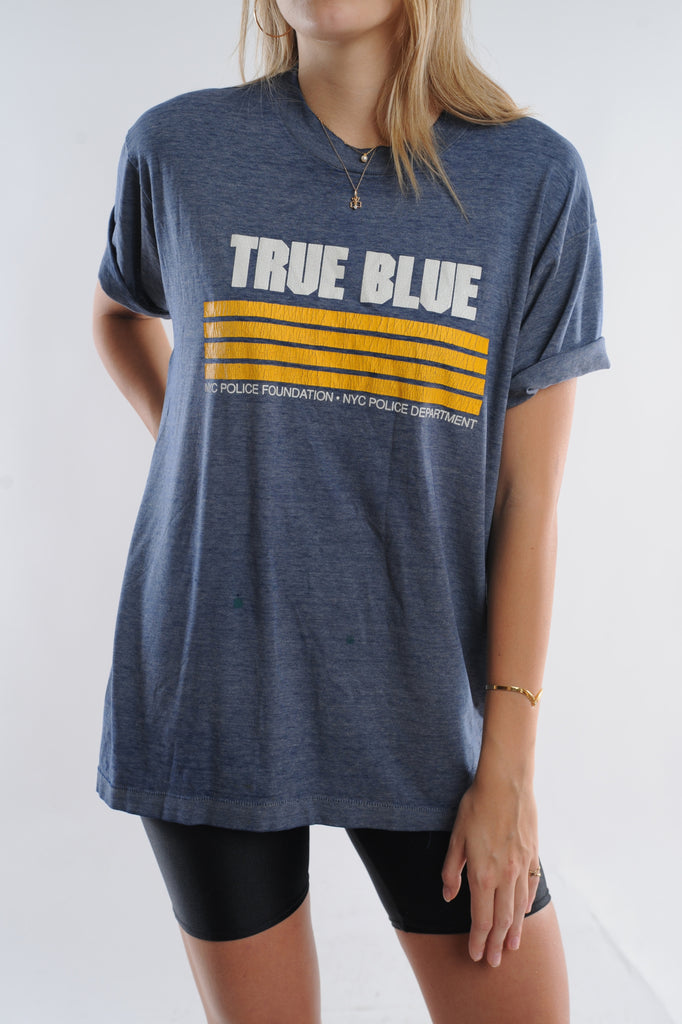 True Blue NYPD Tee