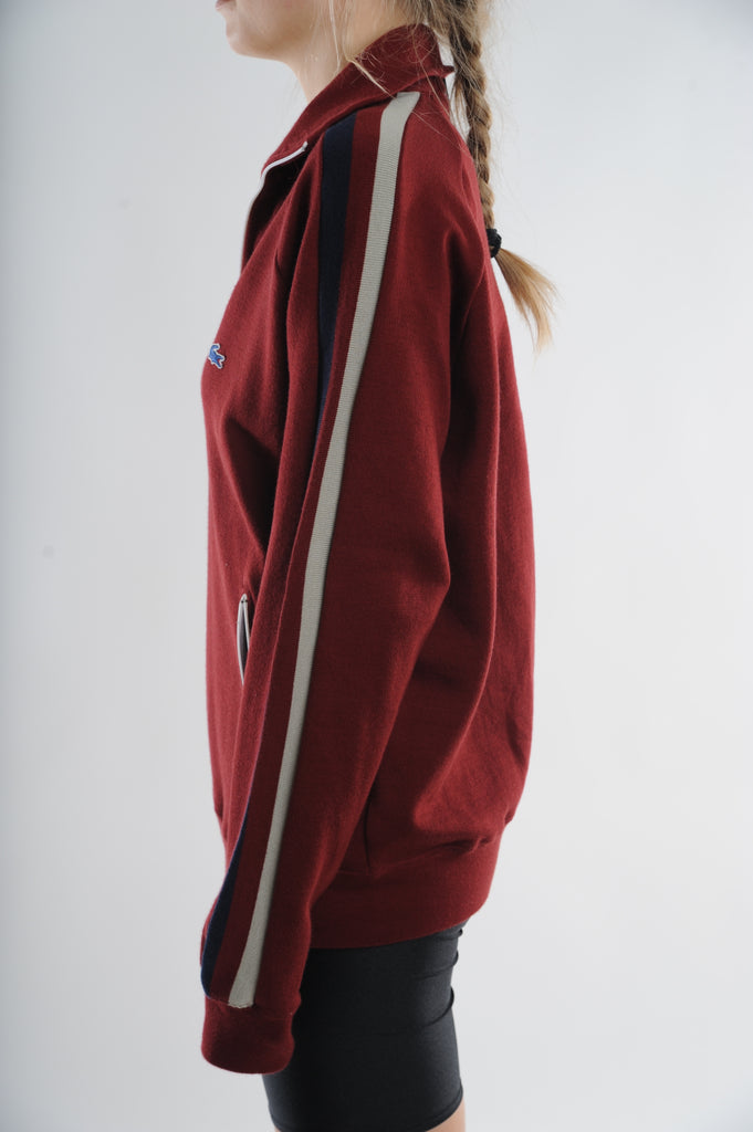 Red Lacoste Lightweight Jacket
