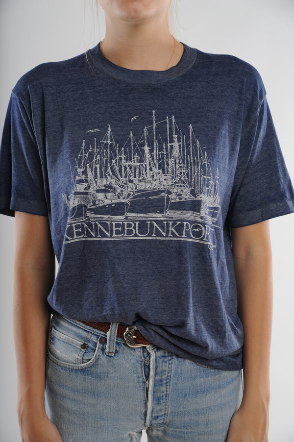 Kennebunkport Maine Ship Tee