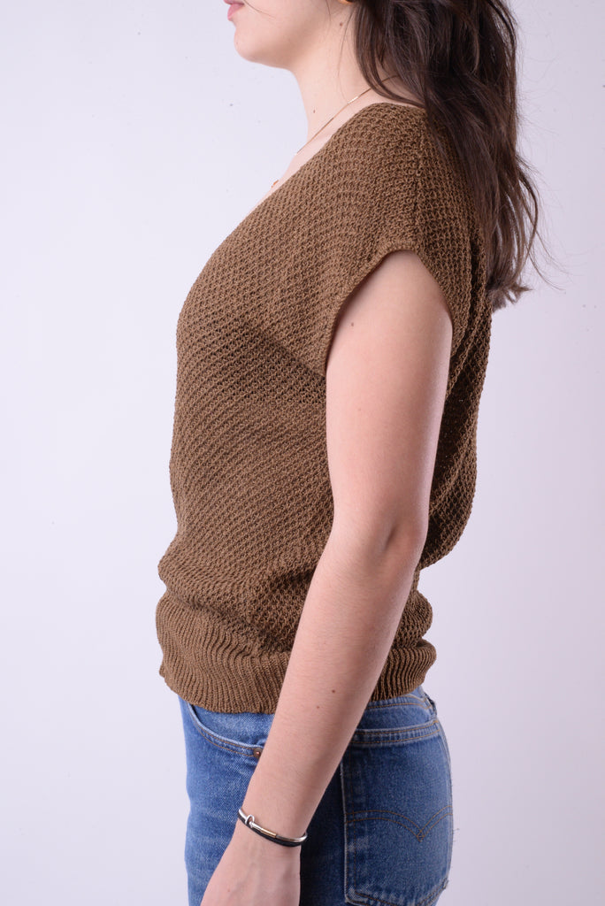 Anne Klein V-Neck Sweater