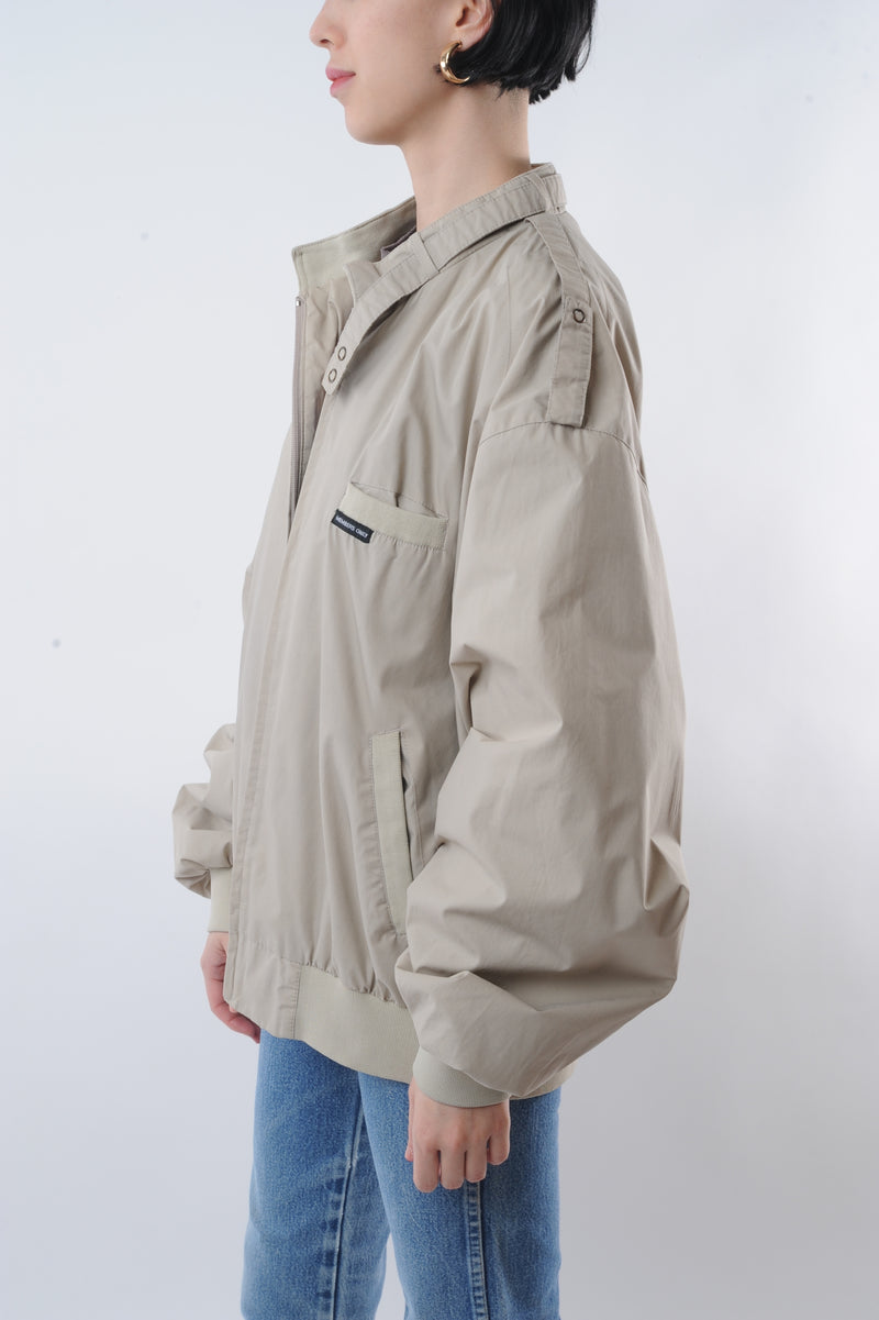 Beige Member's Only Jacket