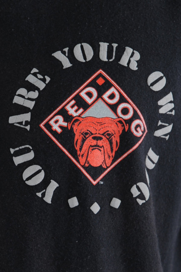 Black Red Dog Tee
