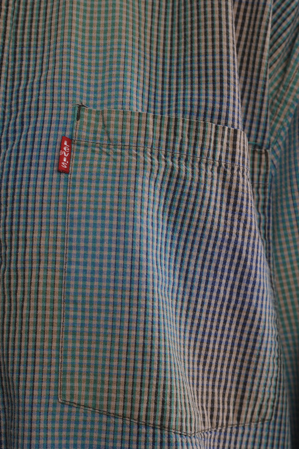 Levi's Gingham Button Down