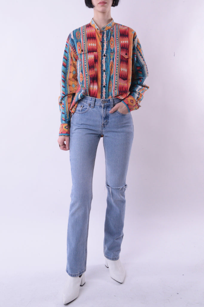 Southwestern Button Down