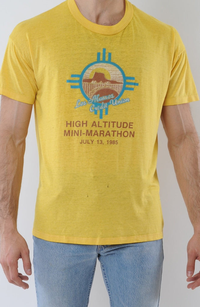 Yellow Los Alamos Tee
