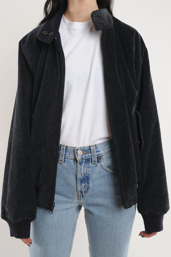 Reversible Wool Bomber Jacket