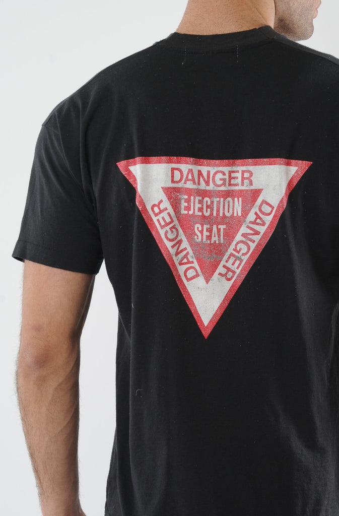 Black Ejection Seat Tee