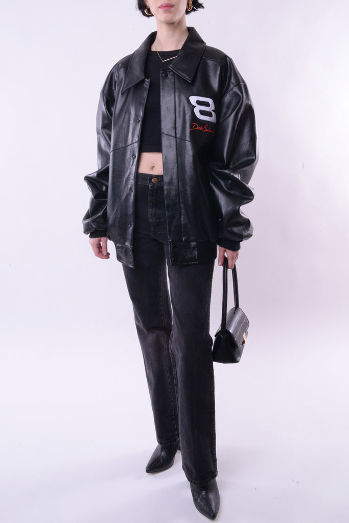 Dale Earnhardt Leather Bomber