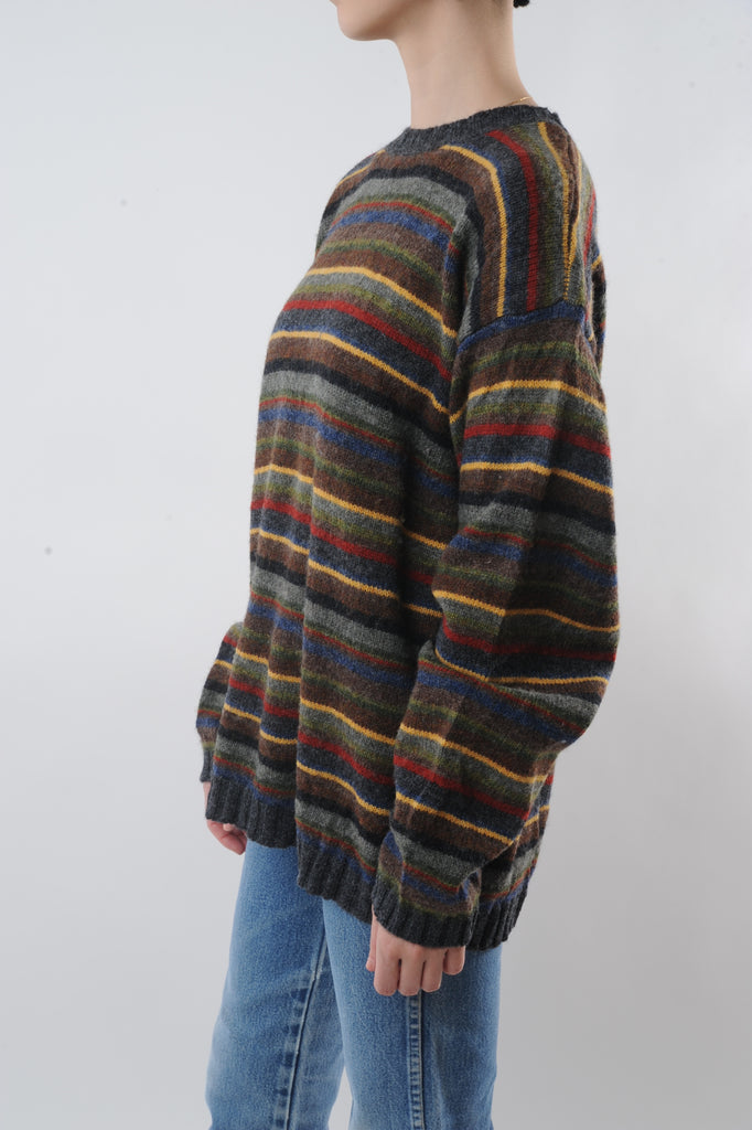 Multicolor Striped Sweater