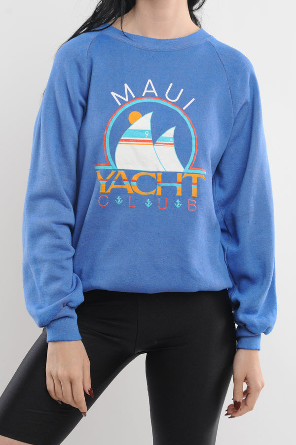 Maui Yacht Club Sweatshirt