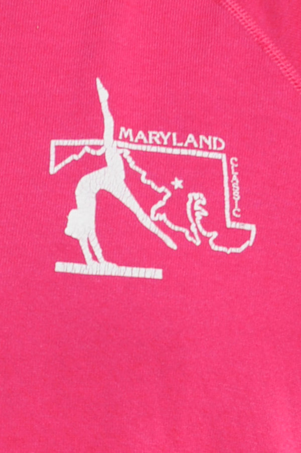 Pink Maryland Classic Sweatshirt
