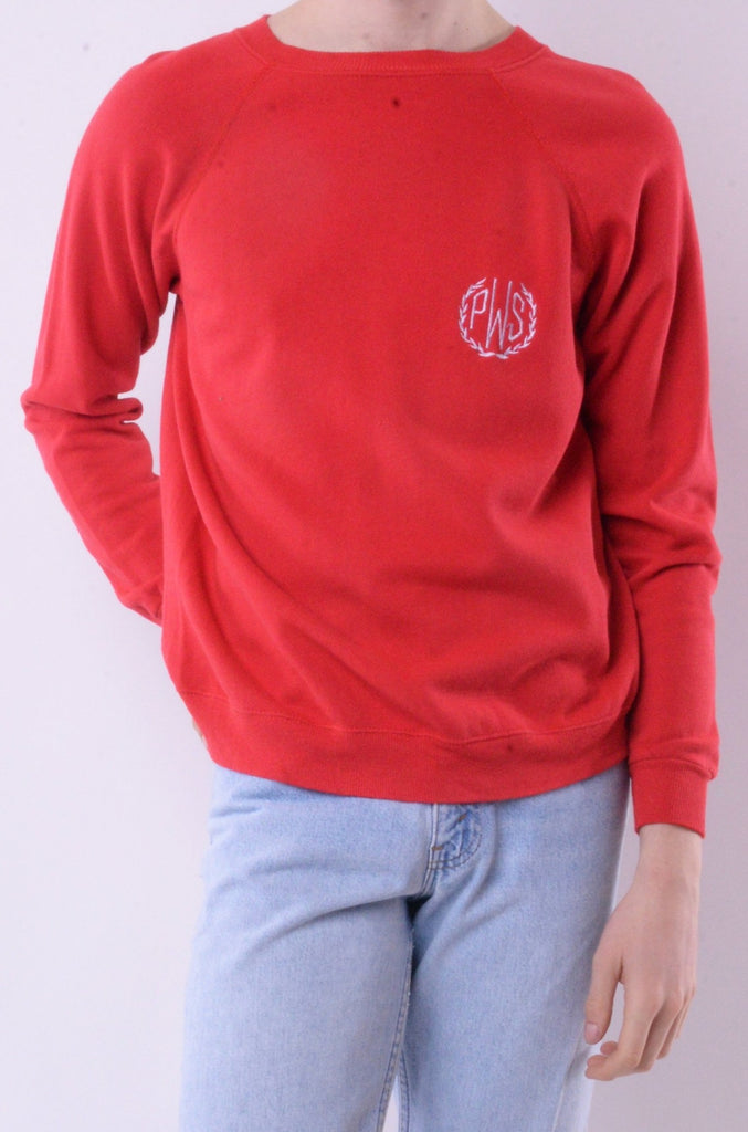 Red PWS Sweatshirt