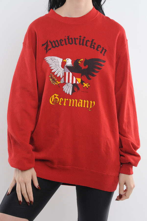 Red Germany Sweatshirt