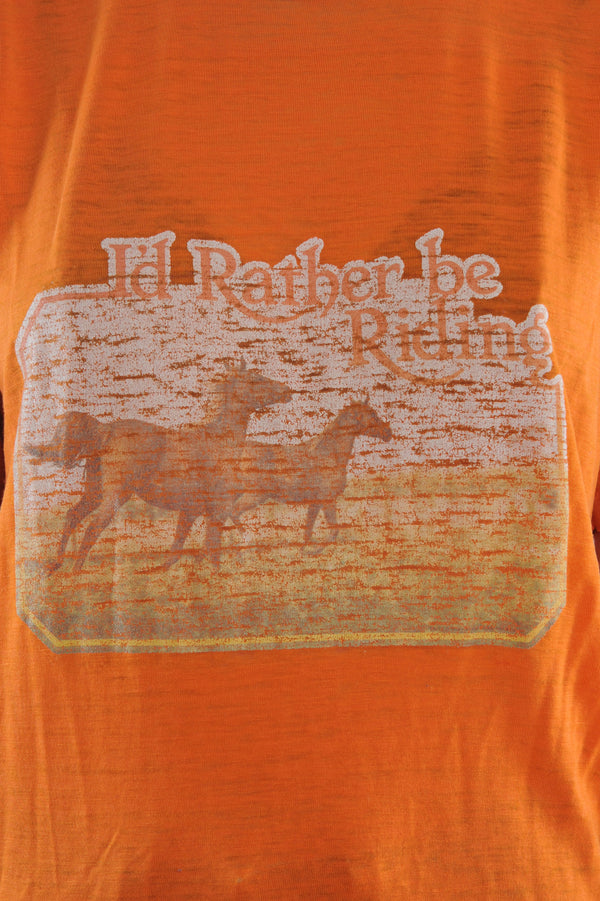 Rather be Riding Tee