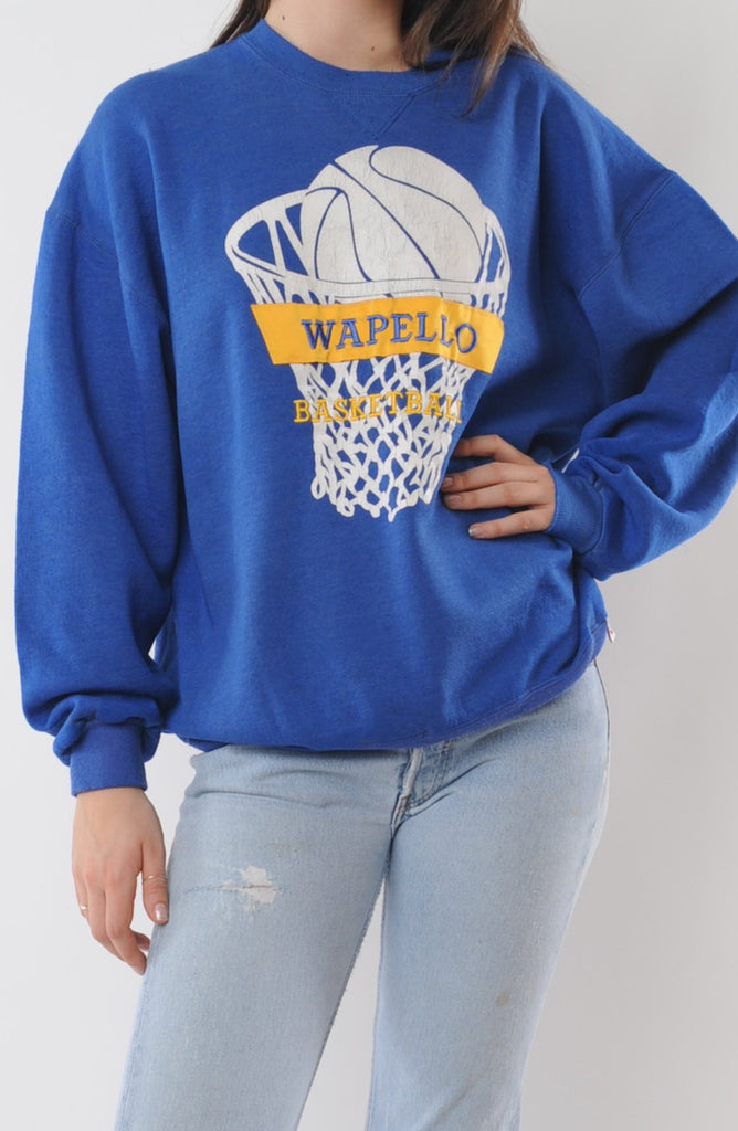 Wapello Basketball Sweatshirt