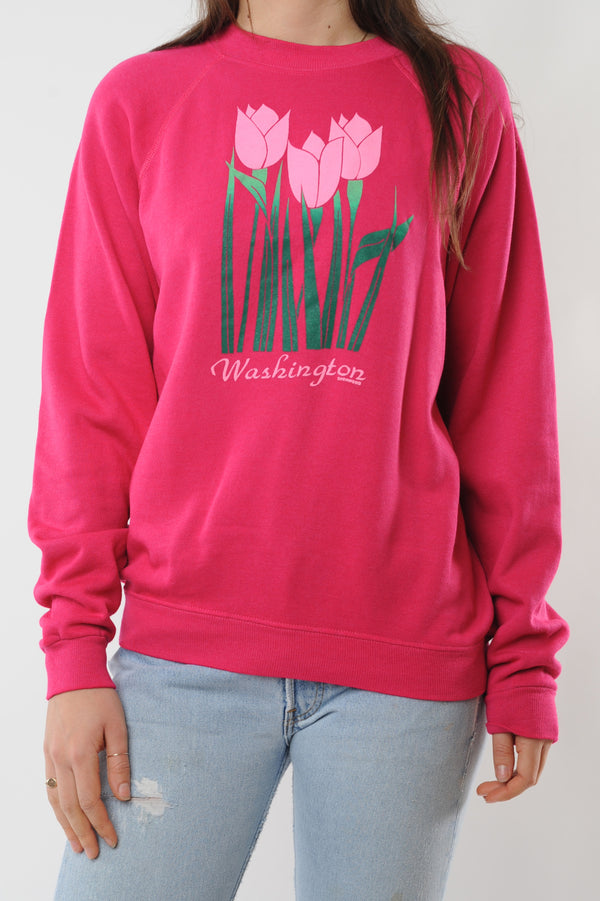 Washington Tulips Sweatshirt