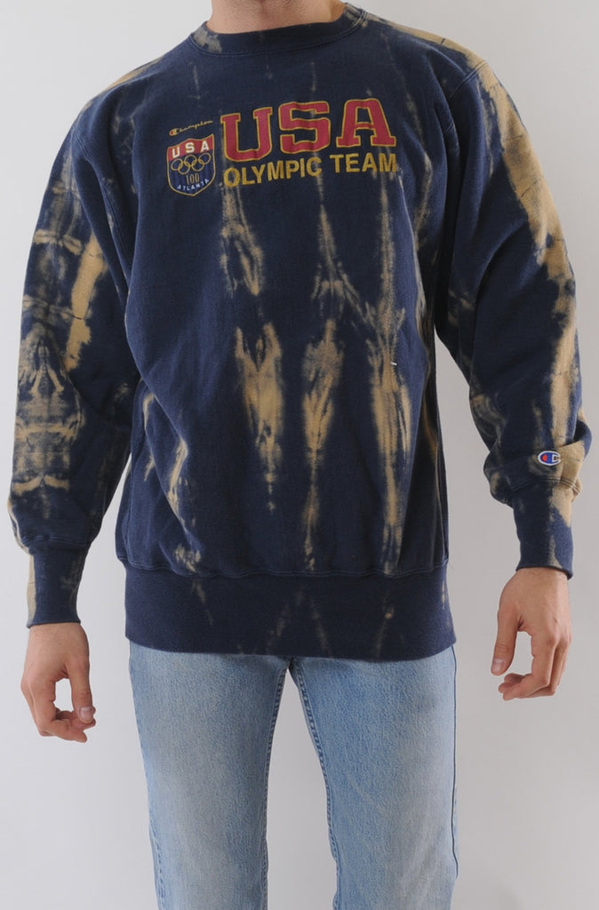 USA Olympic Tie Dye Sweatshirt
