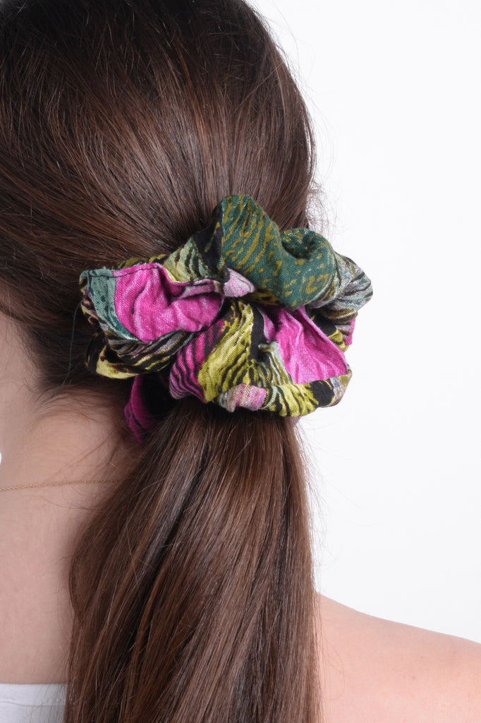 Abstract Scrunchie
