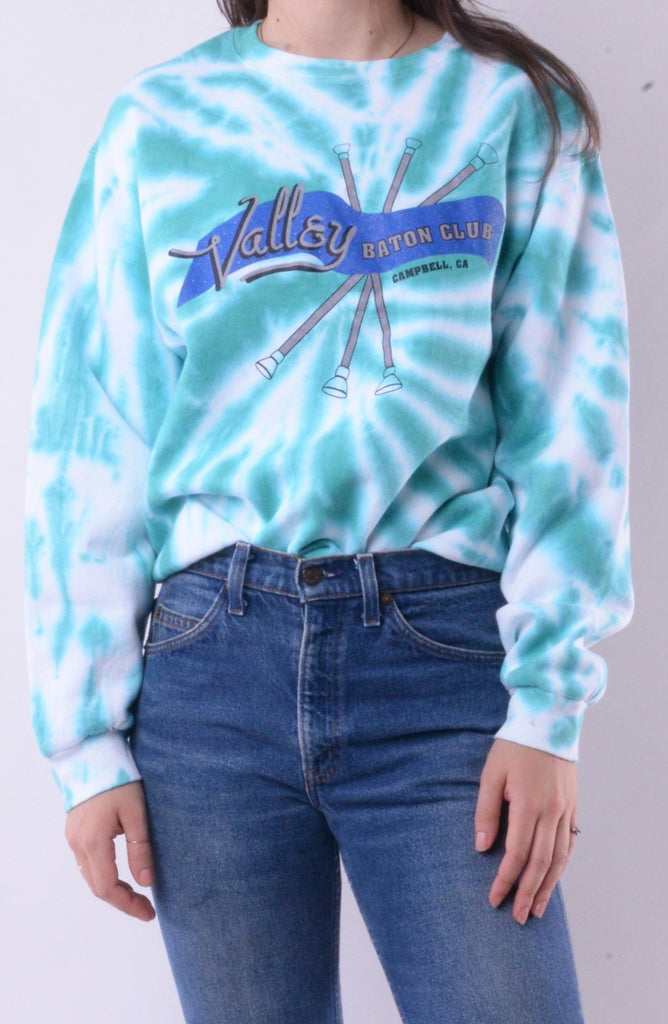 Valley Baton Club Tie Dye Sweatshirt