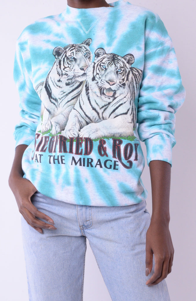Siegfried & Roy Tie Dye Sweatshirt