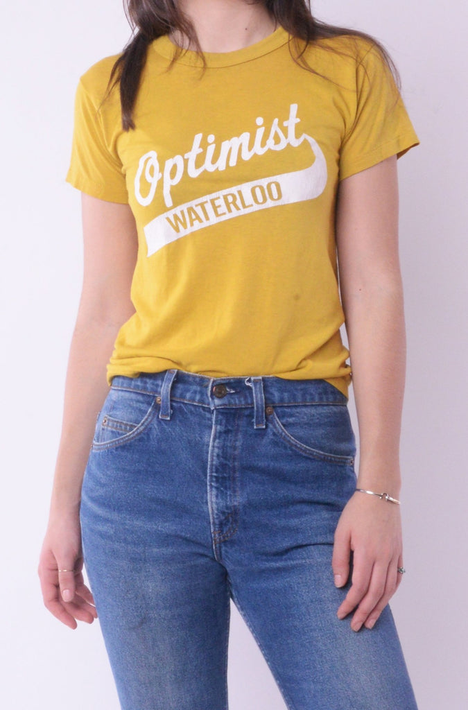 Yellow Optimist Waterloo Tee