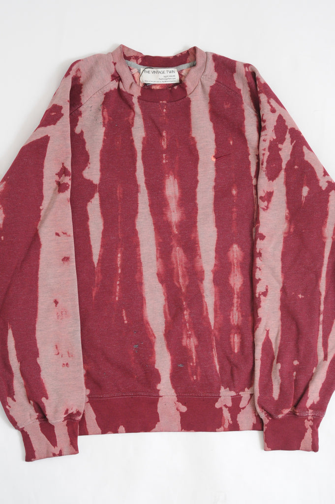 Red Nike Tie Dye Sweatshirt
