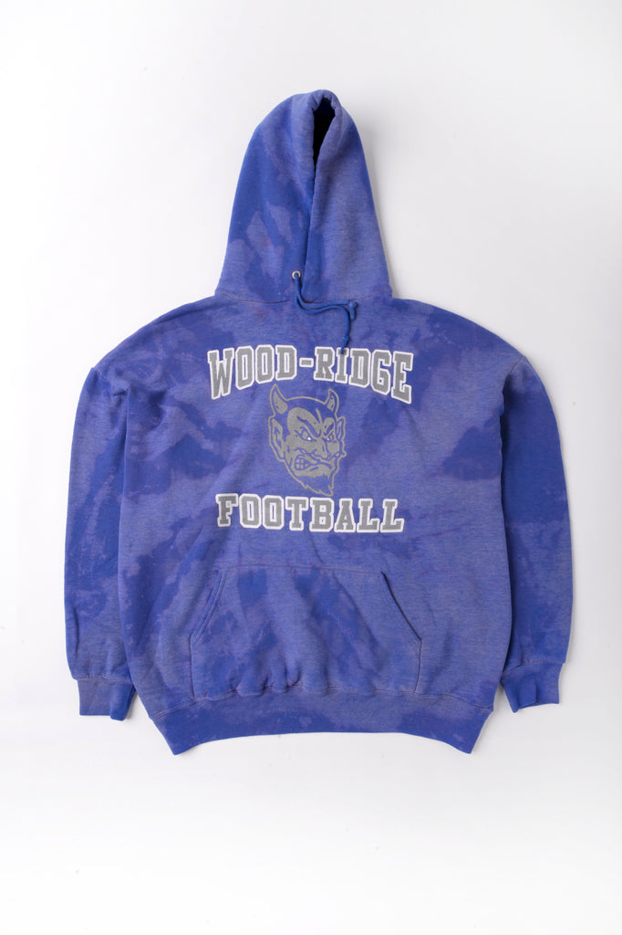 Wood-Ridge Football Tie Dye Sweatshirt