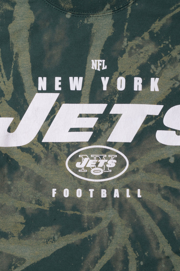 New York Jets Tie Dye Sweatshirt