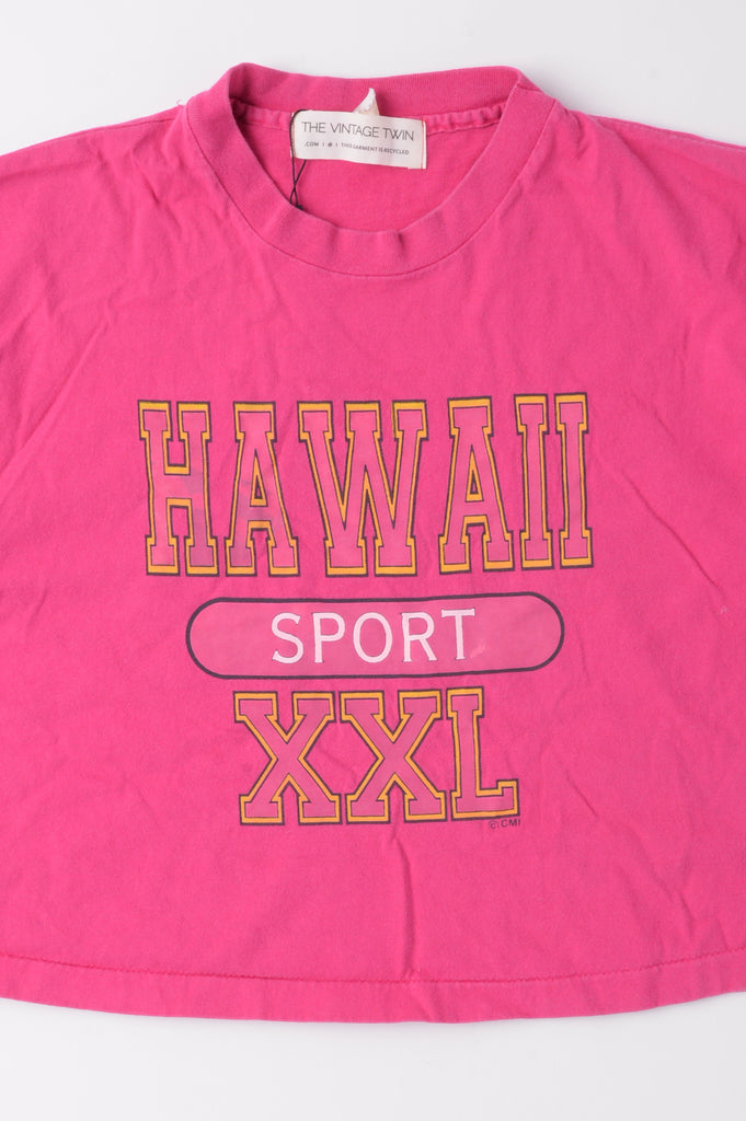 Cropped Hawaii Sport Tee