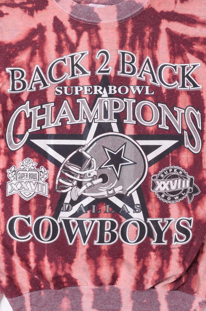 Cowboys Super Bowl Tie Dye Sweatshirt