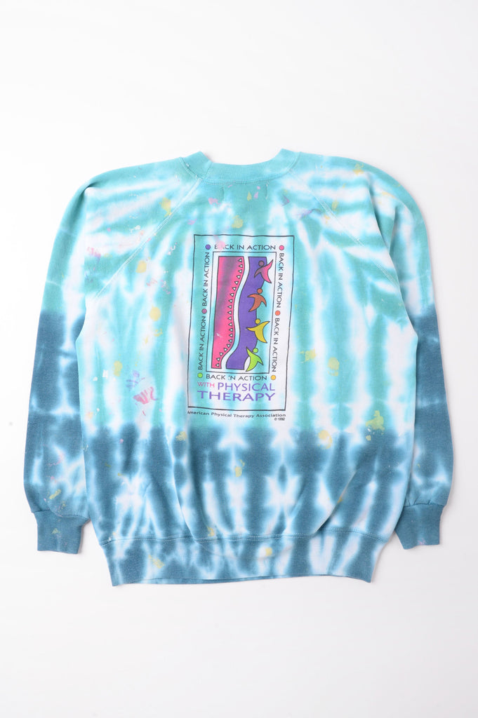 Physical Therapy Tie Dye Sweatshirt