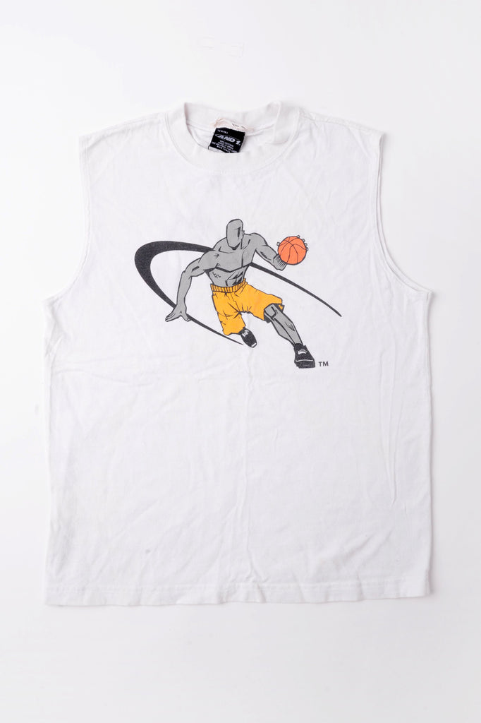 Basketball Muscle Tee