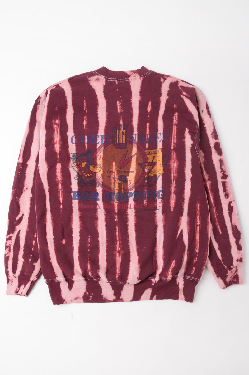 Bar Hopping Tie Dye Sweatshirt