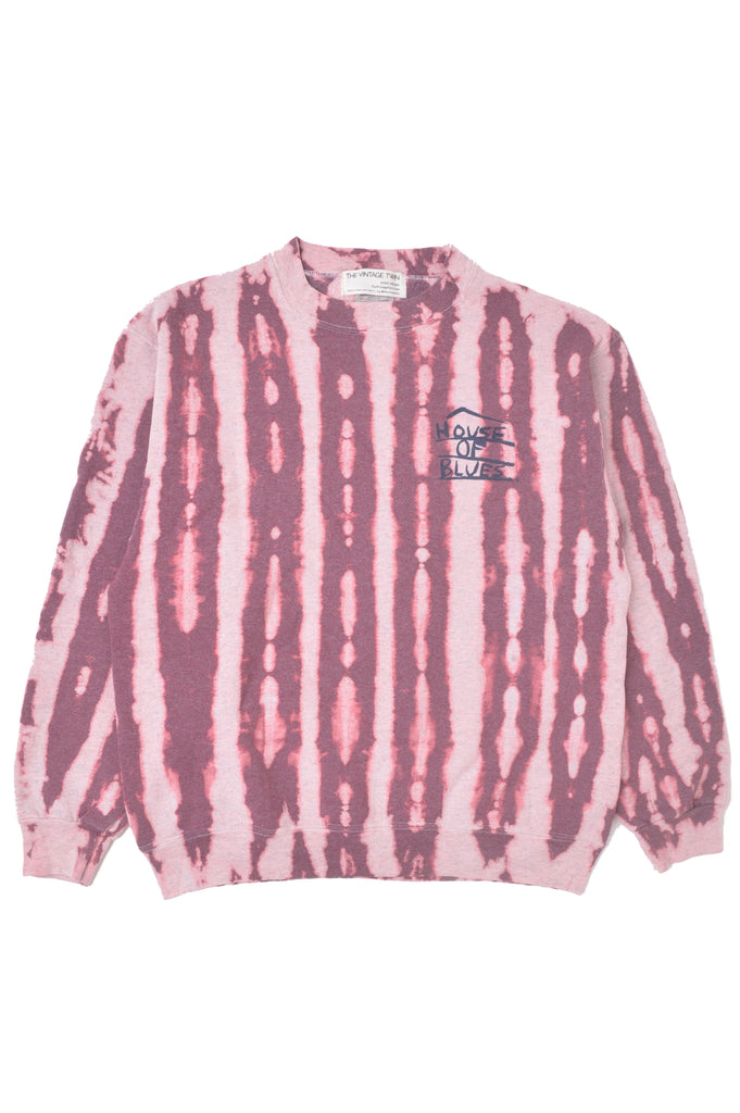 House of Blues Tie Dye Sweatshirt