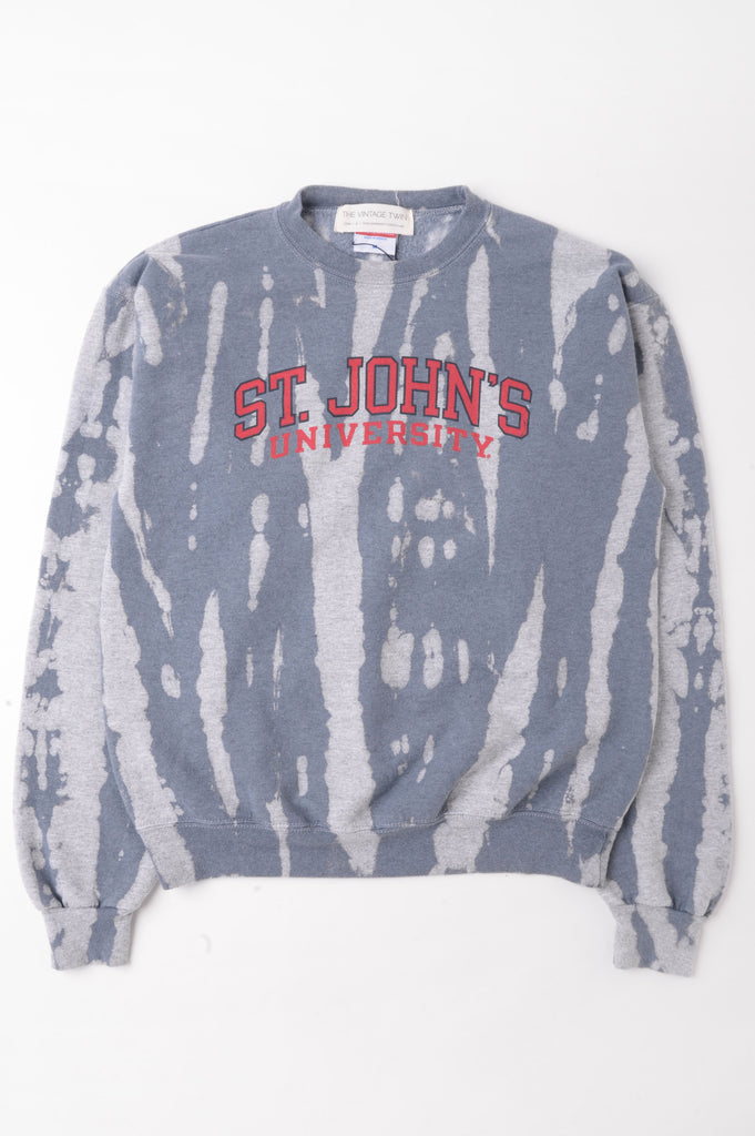 St Johns University Tie Dye Sweatshirt