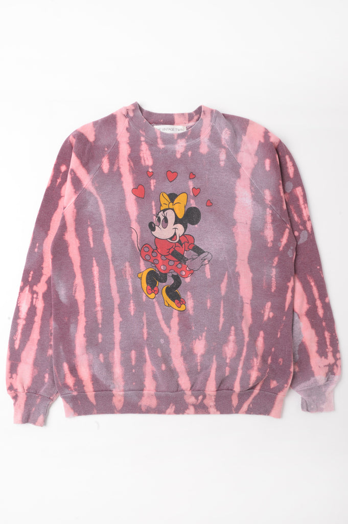 Minnie Mouse Tie Dye Sweatshirt