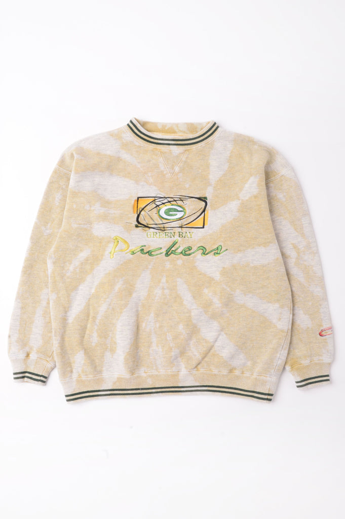 Green Bay Packers Tie Dye Sweatshirt