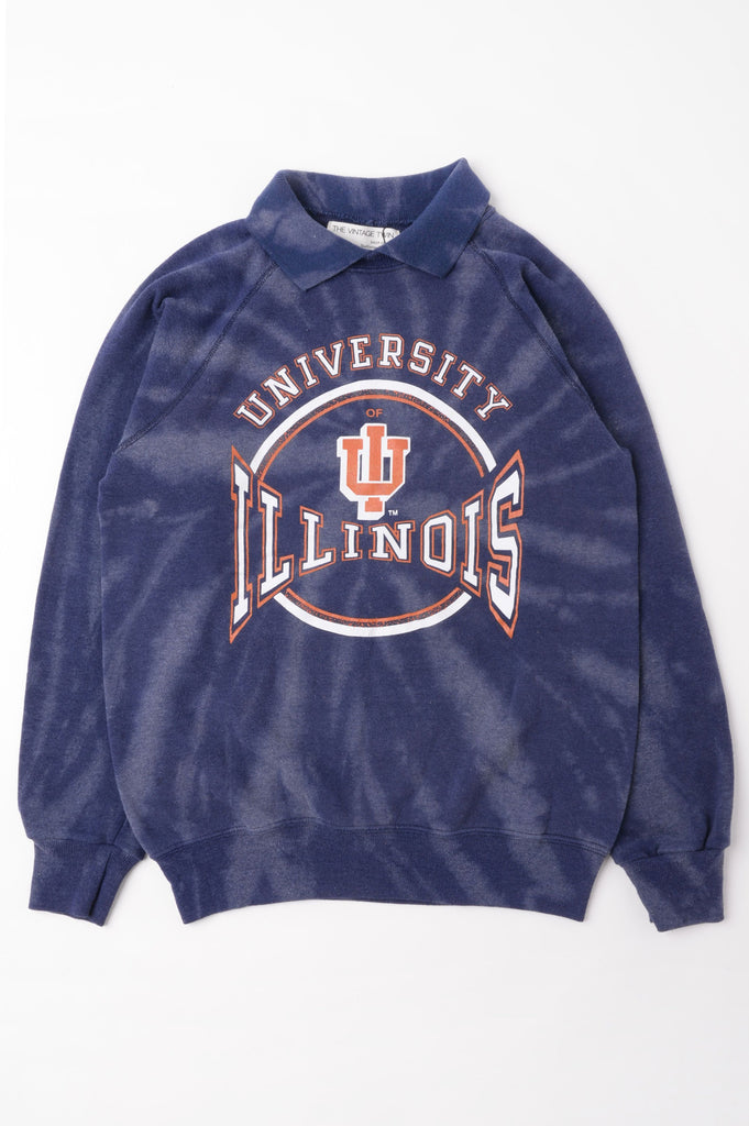 University of Illinois Tie Dye Sweatshirt