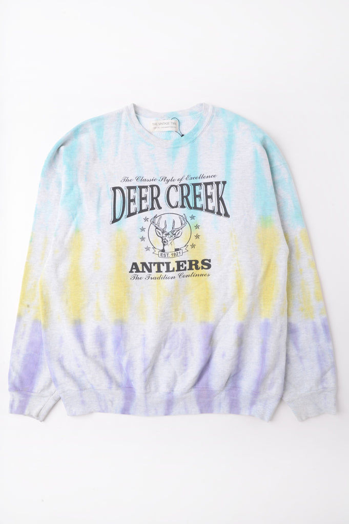 Deer Creek Tie Dye Sweatshirt