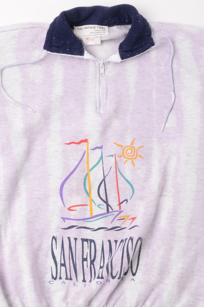 San Francisco Tie Dye Sweatshirt
