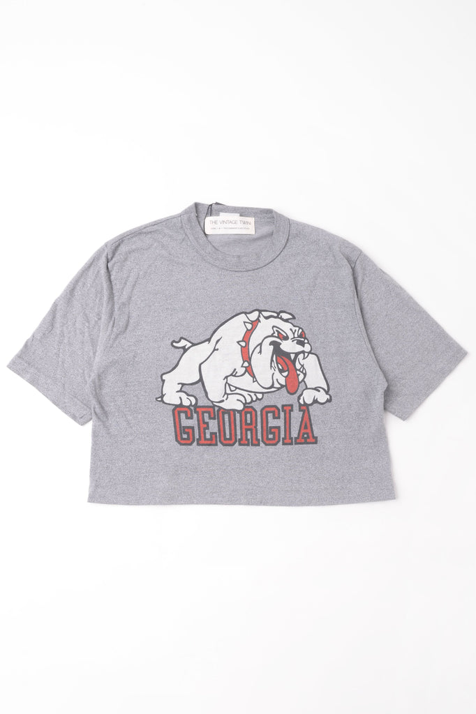 Cropped University of Georgia Tee