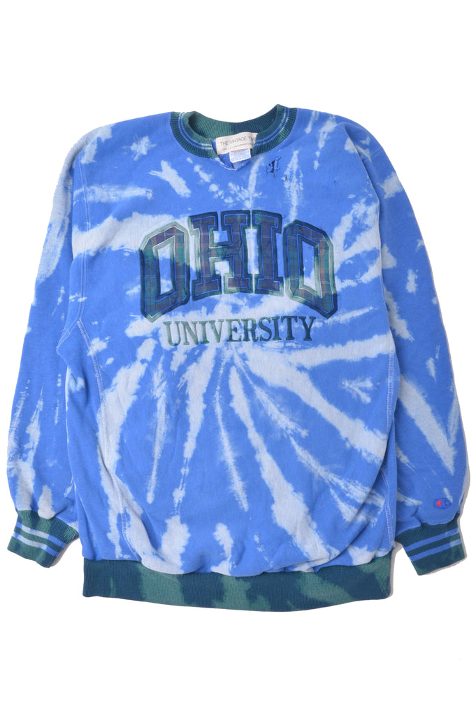 Ohio University Tie Dye Sweatshirt