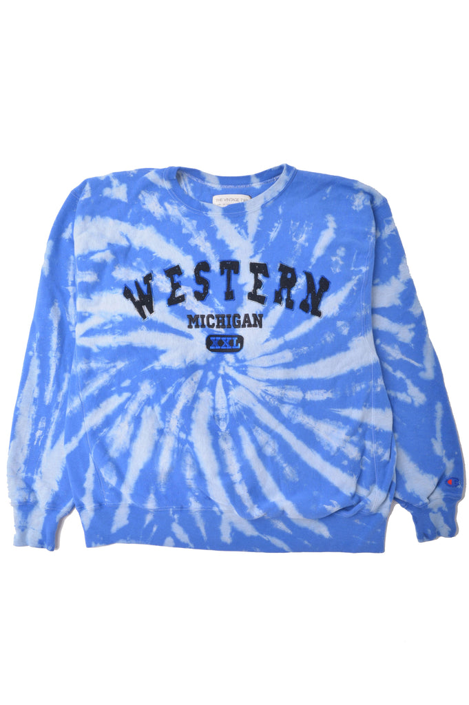 Western Michigan University Tie Dye Sweatshirt